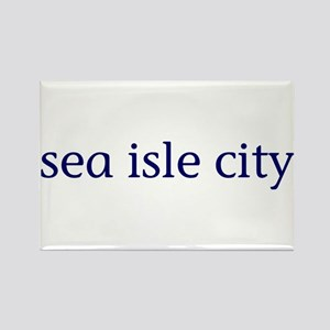 Sea Isle City Rectangle Magnet