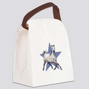 Dapple Grey Arabian Horse with Star Canvas Lunch B