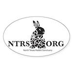 Tribal Bunny Sticker