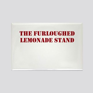 The Furloughed Lemonade Stand Rectangle Magnet