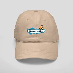 St. Augustine - Palm Surf Design. Cap