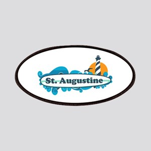 St. Augustine - Palm Surf Design. Patches