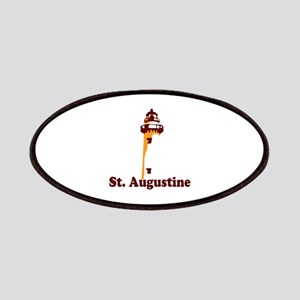 St. Augustine - Lighthouse Design. Patches
