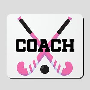 Field Hockey Coach Gift Mousepad