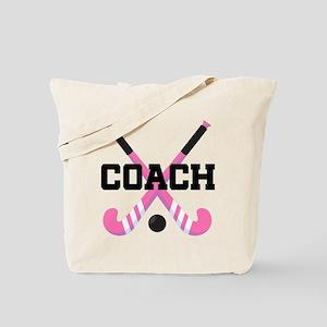 Field Hockey Coach Gift Tote Bag