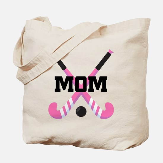 Field Hockey Mom Tote Bag