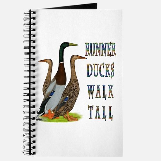 Runner Ducks Walk Tall Journal