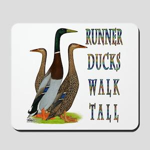 Runner Ducks Walk Tall Mousepad