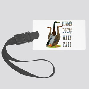 Runner Ducks Walk Tall Luggage Tag