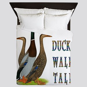 Runner Ducks Walk Tall Queen Duvet