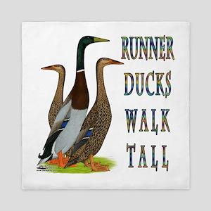Runner Ducks Walk Tall Queen Duvet