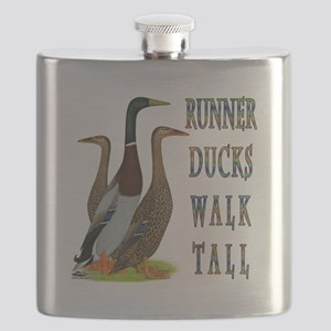 Runner Ducks Walk Tall Flask