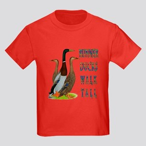 Runner Ducks Walk Tall T-Shirt