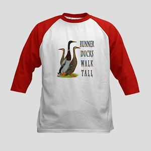 Runner Ducks Walk Tall Baseball Jersey