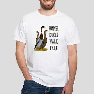 Runner Ducks Walk Tall T-Shirt
