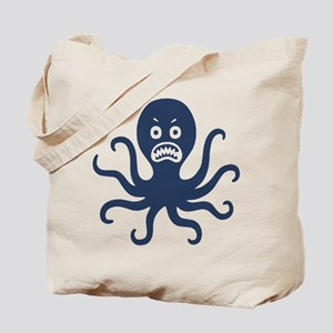 Scary Octopus Tote Bag