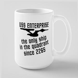 Funny Star Trek Large Mug