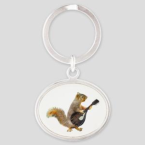 Squirrel Mandolin Keychains