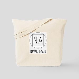 NA Never again Tote Bag