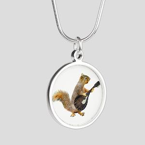 Squirrel Mandolin Necklaces