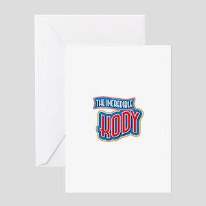 The Incredible Kody Greeting Card