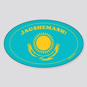 Jagshemash! Oval Sticker