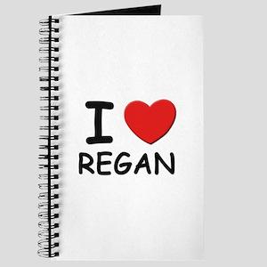 I love Regan Journal