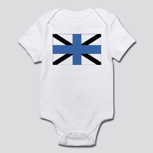 Estonia Naval Jack Infant Bodysuit