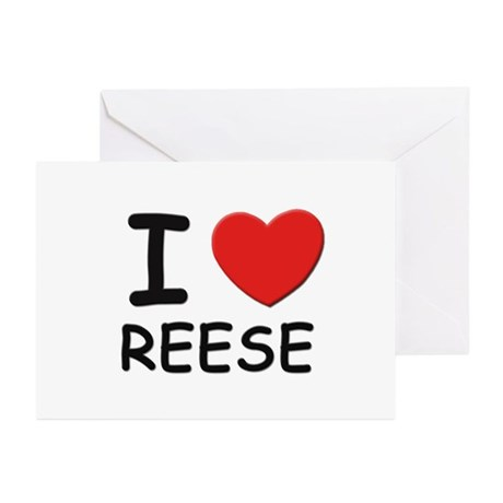 I love Reese Greeting Cards (Pk of 10)