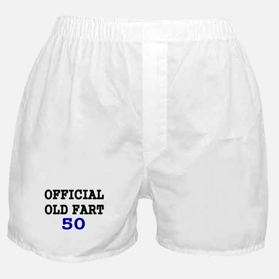 OFFICIAL OLD FART 50 Boxer Shorts