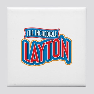 The Incredible Layton Tile Coaster