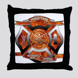 FD Seal Throw Pillow
