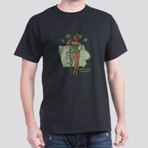 Faded Iowa Pinup Dark T-Shirt