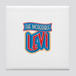 The Incredible Levi Tile Coaster