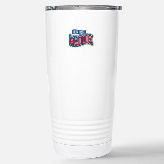 The Incredible Maddox Travel Mug