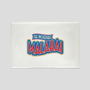 The Incredible Malakai Rectangle Magnet