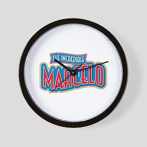 The Incredible Marcelo Wall Clock