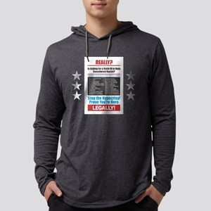 Voter ID Mens Hooded Shirt