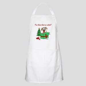 I've been bad,so what? BBQ Apron