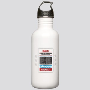 Voter ID Stainless Water Bottle 1.0L