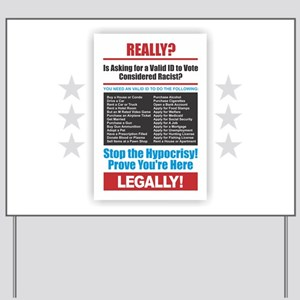 Voter ID Yard Sign
