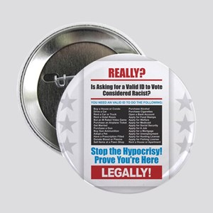 "Voter ID 2.25"" Button"