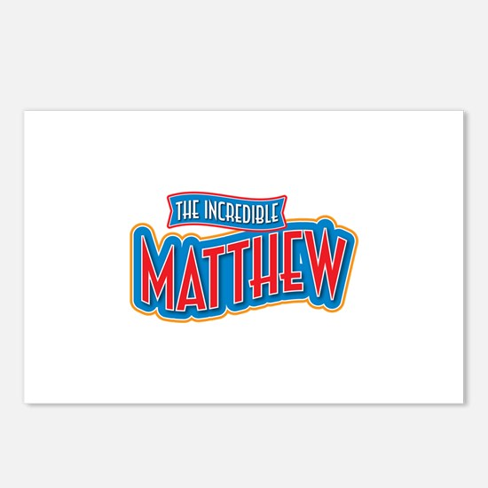 The Incredible Matthew Postcards (Package of 8)