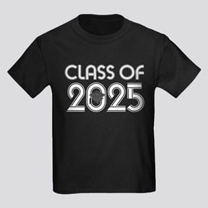 Class of 2025 Grad Kids Dark T-Shirt