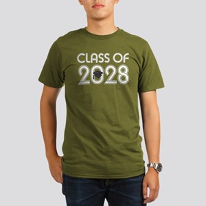 Class of 2028 Grad Organic Men's T-Shirt (dark)