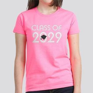 Class of 2029 Grad Women's Dark T-Shirt