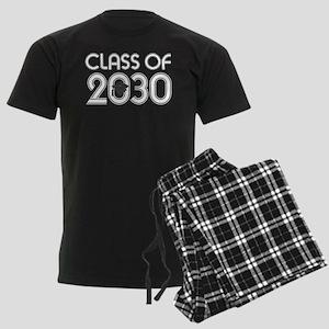 Class of 2030 Grad Men's Dark Pajamas