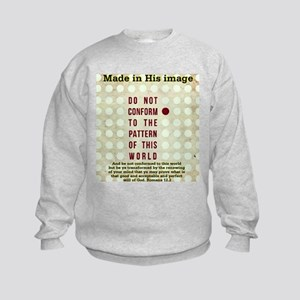 Jesus Do not conform Sweatshirt