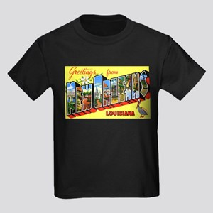 New Orleans Louisiana Greetings (Front) T-Shirt