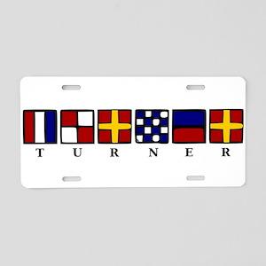 Nautical Aluminum License Plate